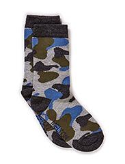 Babysock, Camouflage - Light grey melange