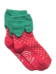 Baby Sock - Strawberry - 537/ROUGERED