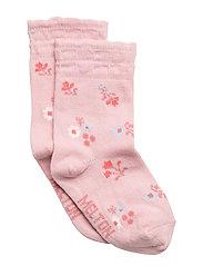 Babysock - Flowers with bub.edge - 509 WILD ROSE