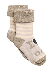 Sock Terrycotton - I Love Dad - 410/OFFWHITE