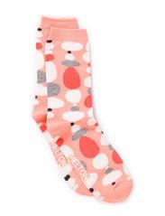 Sock, Pebbles - Peach
