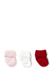 Baby terry cotton, 3-pack - Multicolor