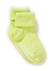Baby sock, turn-up - 600/SUNNY LIME