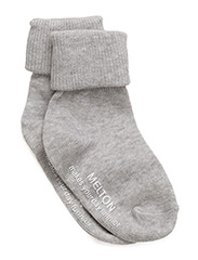 Basic Sock ABS - PEARL GREY MELANGE 130