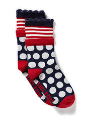 Melton Girls sock, Bubble and stripes