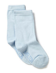 Sock , plain colour - Light Blue