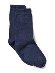 Sock , plain colour - 276/MELANGE TAHITI