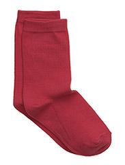 Sock , plain colour - Pink