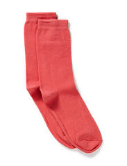 Sock , plain colour - Water Melon