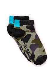 Footies, Camouflage - Medium Pine green