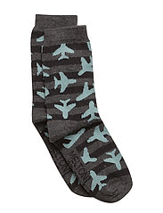 Sock - Airplanes - 179/DARKGREYMEL.VEGA