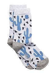 Sock - Cactus - 130 PEARL GREY MELANGE