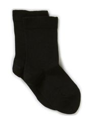Classic Superwash wool sock - Black