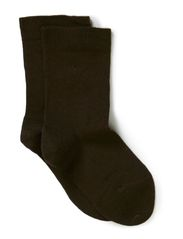 Classic Superwash wool sock - Chocolate