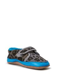Print Suede Shoe, Animal - Hawaiin Ocean