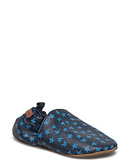 Leather shoe - Loafer with Print - 287/BLUENIGHTS