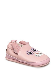 Leather shoe - Mouse with ears - 503 BLUSH ROSE