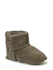 Lambfur bootie - Graphite grey