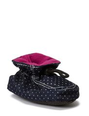 Booties Cotton, Stars - Fucshia