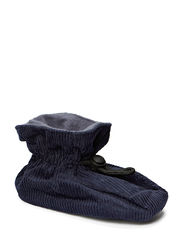 Bootees Cotton Corduroy - Marine blue