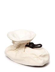 Bootees Cotton Corduroy - Offwhite