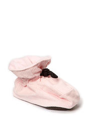 Bootees Cotton Corduroy - Pink rose