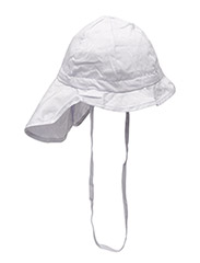 Hat w/neck & bow, Solid col - LIGHT PURPLE 702