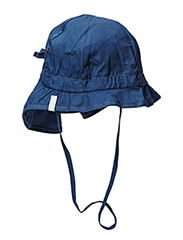 Hat w/neck & bow, Solid col - 285/MARINE