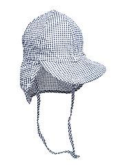 Cap w/neck - Mini Squares - 285 MARINE