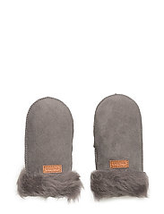 Lamb Wool - Mittens - 150/DARKGREY