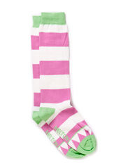 Knee-high, Triangle & Stripe - 304/SUMMER GREEN