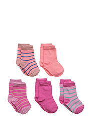 Numbers, 5-pack Socks, Mix - 520/DUSTYPINK