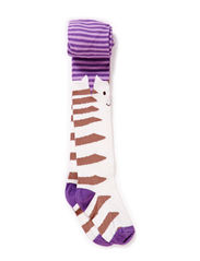 Babytights, Stripee Cat - Dusty light purple