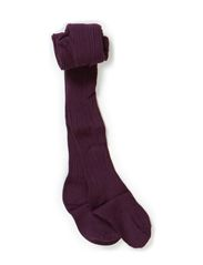 Classic tights w/Bamboo, Milli - Dusty purple