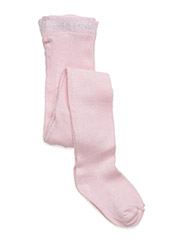 Tights, Bamboo Solid Basic - Rose