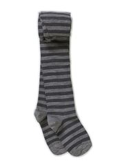 Classic Tight WO/CO, Stripe - Dark grey melange