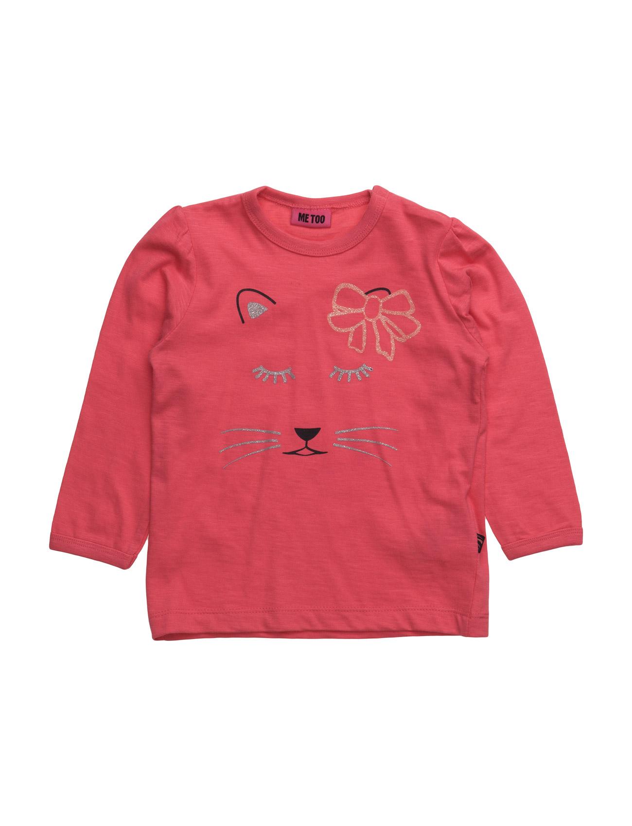 Gabi, Mini Top Ls MeToo Langærmede t-shirts til Børn i Mørk grå