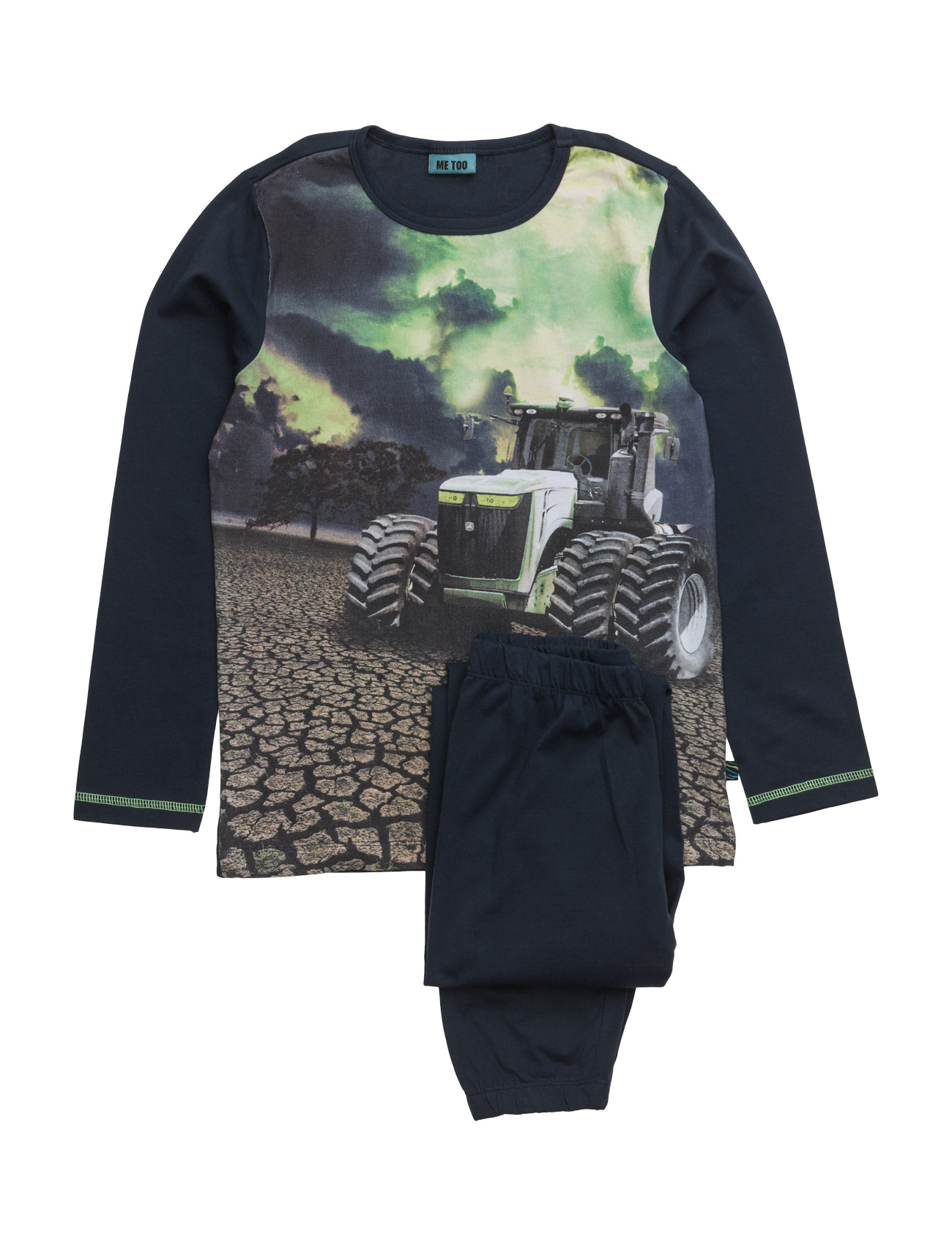 Guno, Nightwear MeToo Pyjamas til Børn i Black Iris