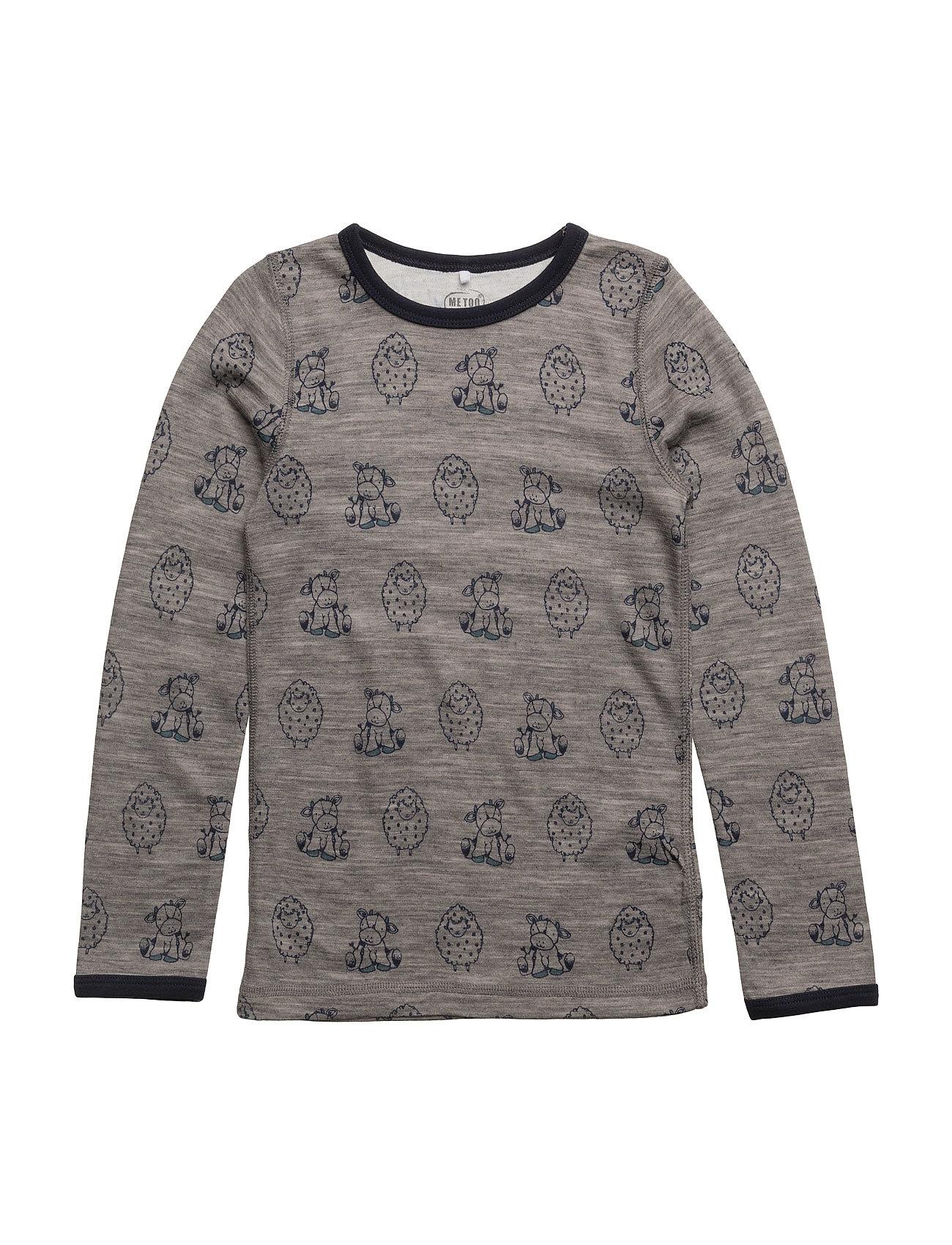 4496 - Top N.O.O.S MeToo Langærmede t-shirts til Børn i