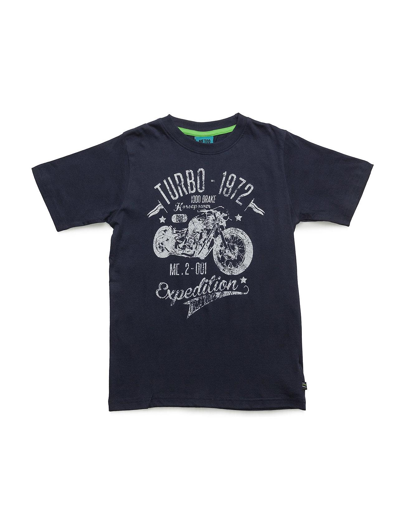 Kris 246 -Top Ss MeToo Kortærmede t-shirts til Børn i Black Iris