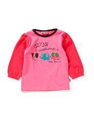 SASSE BABY 8 LS TOP -48 GIRL - AZALEA PINK