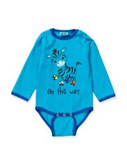 HARLEY BABY LONG SLEEVE BODY - BLUE DANUBE