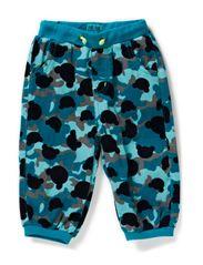 ILJA BABY CORD PANTS - ENAMEL BLUE