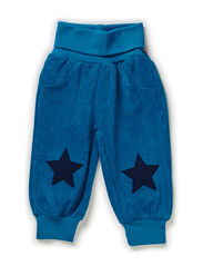 LEX BABY FROTE PANTS - OCEAN DEPTHS