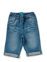 FRANS MINI B SW. LONG SHORTS - denim