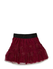 MIE MINI B TULLE SKIRT - MAGENTA PURPLE