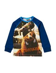 KION MINI B LONG SLEEVE TOP - ESTATE BLUE