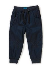 LUKE MINI B TWILL JOGGERS - DRESS BLUES