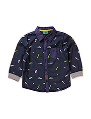 OLE MINI B LS SHIRT - ASPHALT