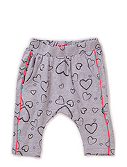 PETRUSCA MINI B CAPRI PANTS - GREY MELANGE